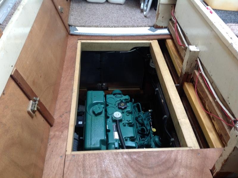 Allez Cat new engine installation