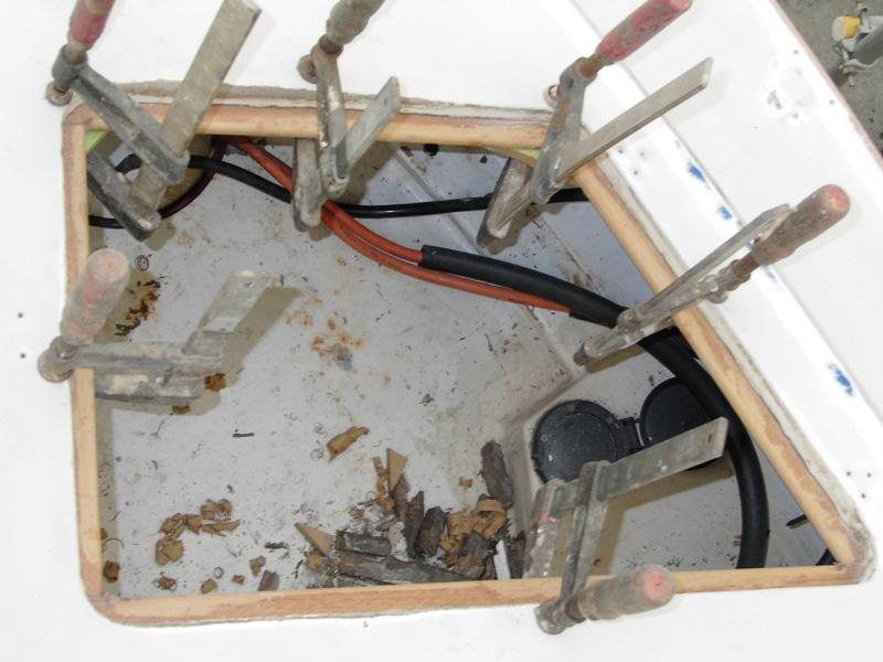 Aquaholic anchor locker repair