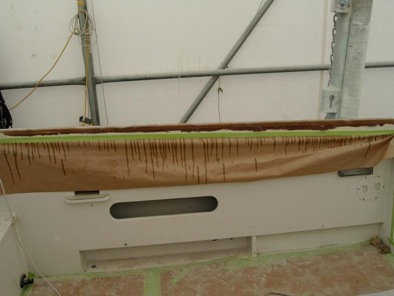 Aquaholic treating timber