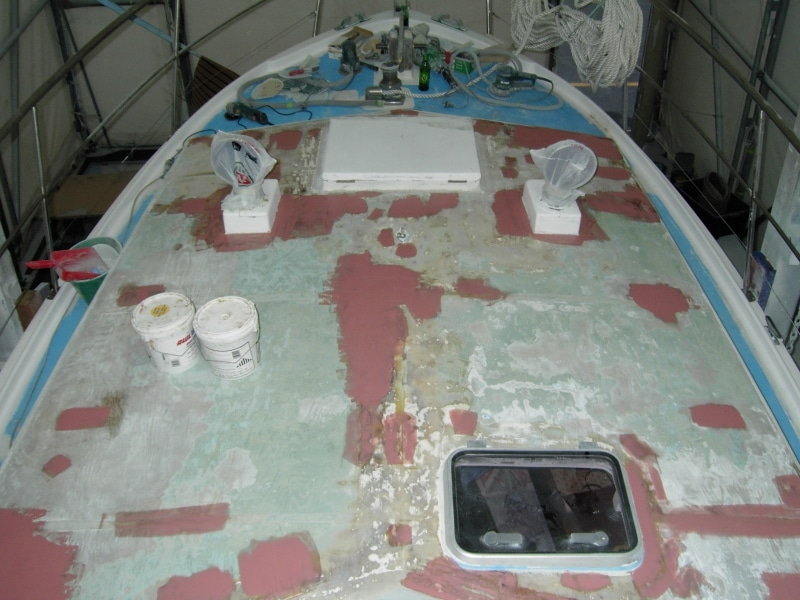 Chinook deck