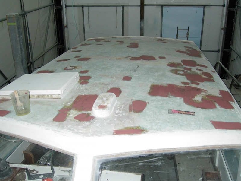 Chinook roof