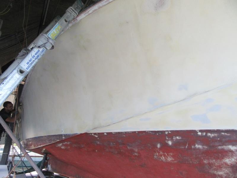 Scorpion sanding hull