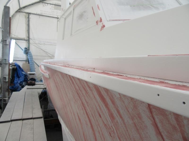 Scorpion filling hull & decks