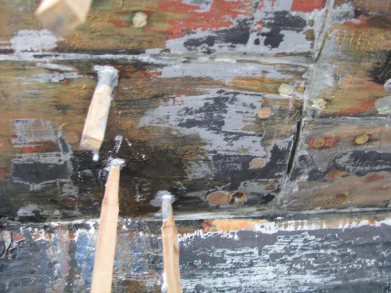 Marguerite - properly repairing bad previous repair