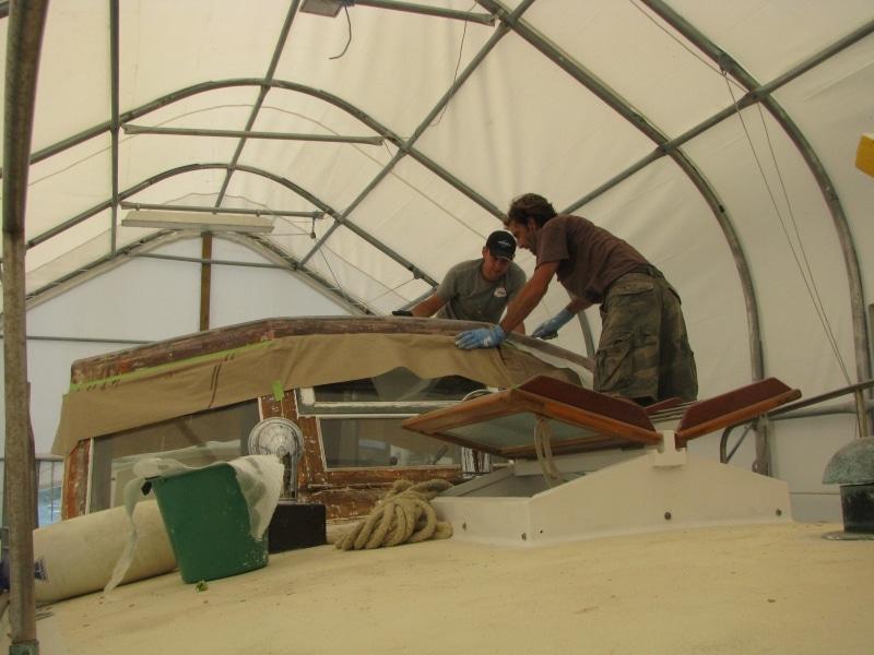 Marguerite - sealing timber