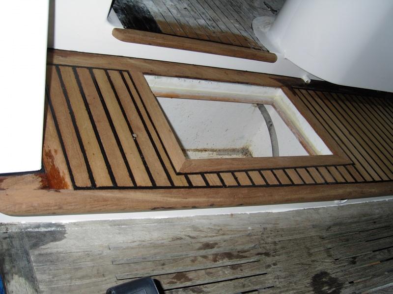 Rebuilding portofino stern