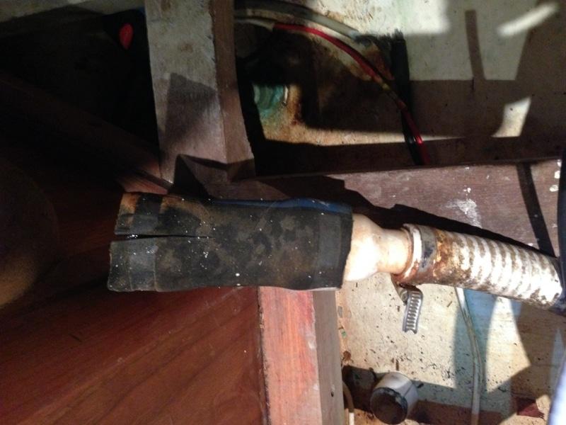 Split hose - no clips