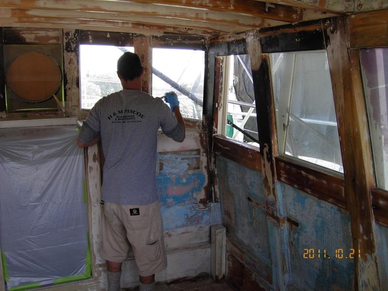 Sundancer Mattias timber sealing