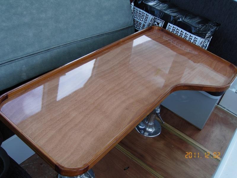 Sundancer finished table