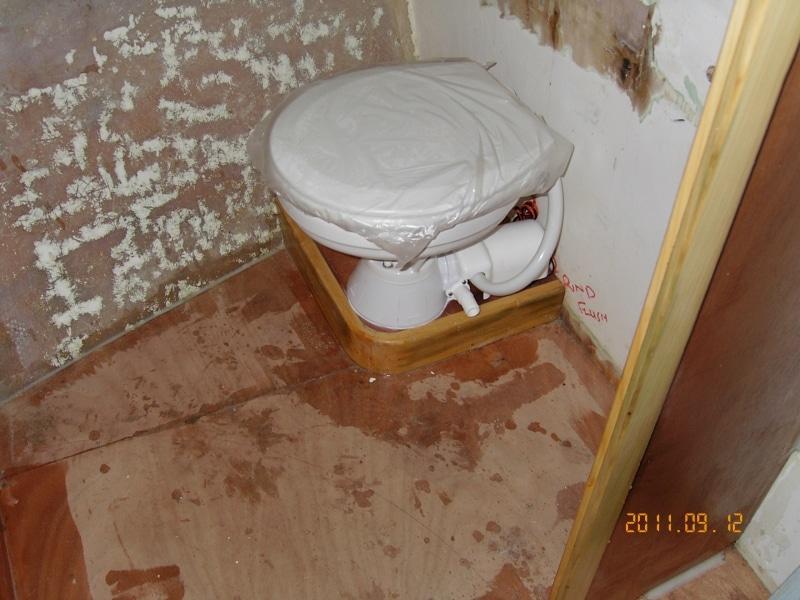 Sundancer new toilet
