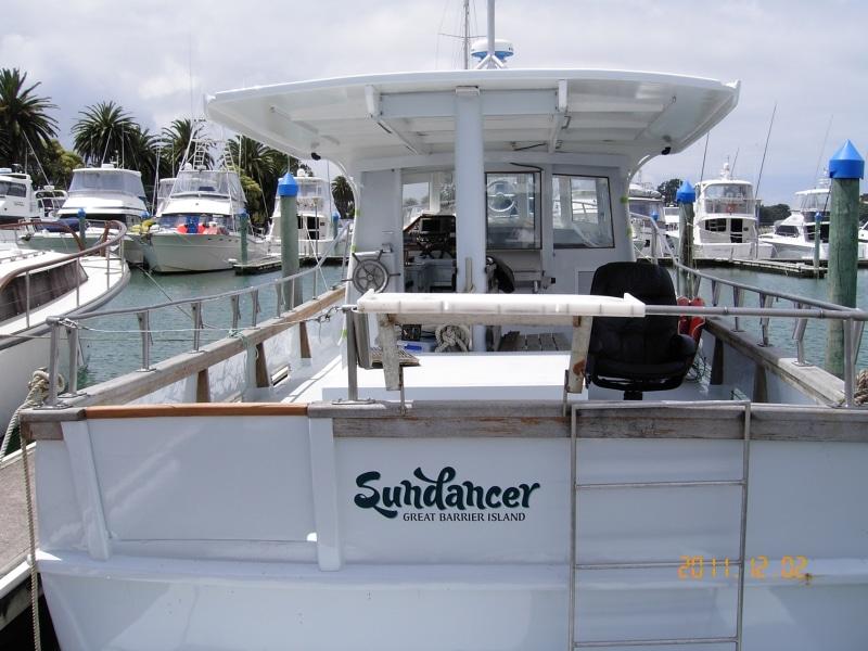 Sundancer refit finished in berth